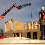 Montage d'une maison à ossature bois